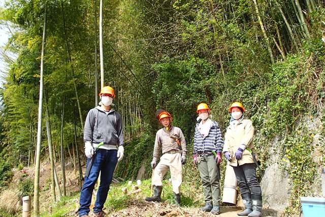 2021年4月 竹を活かす山仕事