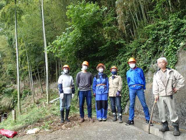 竹を活かす山仕事