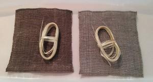 からむしの布とからむしの糸