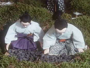 photo(C)民族文化映像研究所 『 薩摩の水からくり 』より